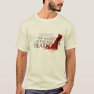 "Man T-Shirt ""The Masque of the Network Death """