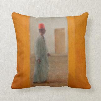 Man Tangier Street 2012 Cushion