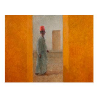 Man Tangier Street 2012 Postcard