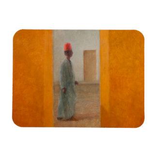Man Tangier Street 2012 Rectangular Photo Magnet