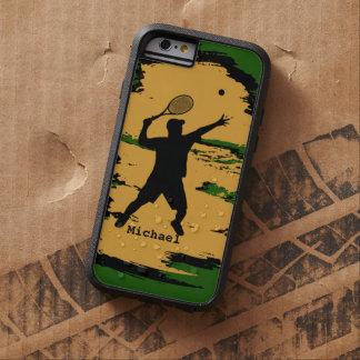 Man Tennis Player Tough Xtreme iPhone 6 Case