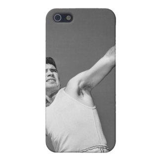 Man Throwing Shotput iPhone 5/5S Case