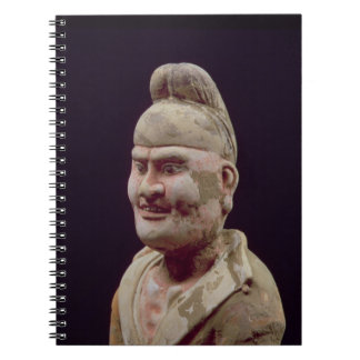 Man Travelling Along the Silk Route,detail of the Spiral Notebook
