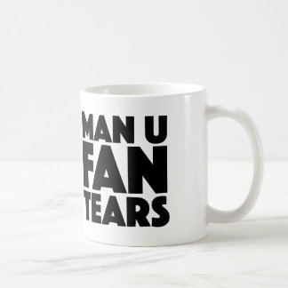 Man U Fan Tears Mug For Liverpool & Man City Fans
