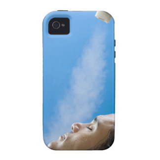 Man under steam faucet at spa Case-Mate iPhone 4 case