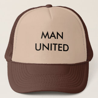 MAN UNITED TRUCKER HAT