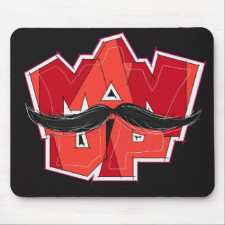 man up mouse pad