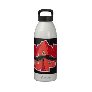 man up reusable water bottle