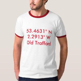 Man Utd - Coordinates T-Shirt