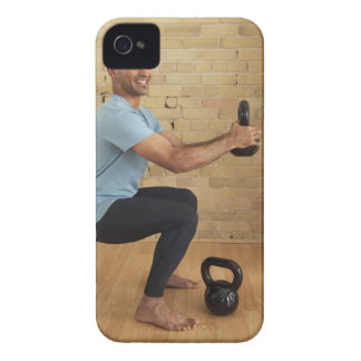 Man Weight Training Case-Mate iPhone 4 Case