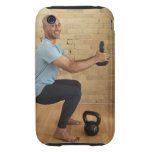 Man Weight Training iPhone 3 Tough Cover