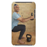 Man Weight Training iPod Touch Covers