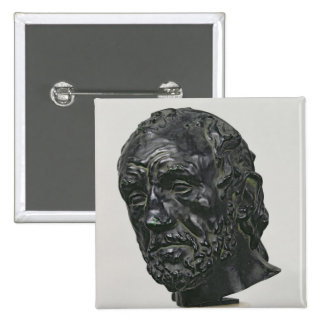 Man with a Broken Nose, 1865 15 Cm Square Badge