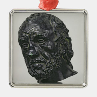 Man with a Broken Nose, 1865 Christmas Ornament