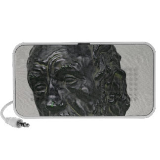 Man with a Broken Nose, 1865 iPhone Speakers