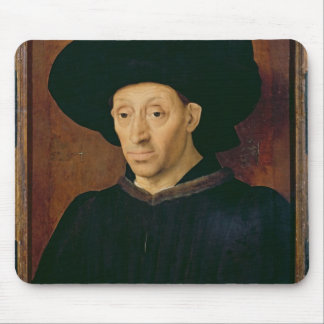 Man with a Glass of Wine Mouse Mat