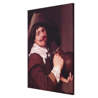 Man with a Jug Canvas Print