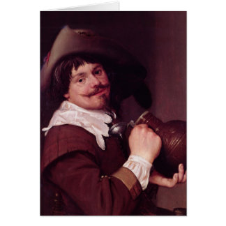 Man with a Jug Card