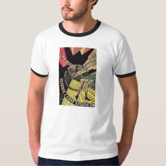 Man With A Movie Camera 1929 color movie poster T-Shirt