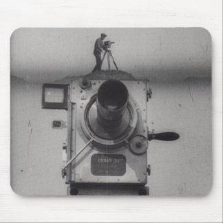 Man with a Movie Camera (1st Shot) Mouse Mat