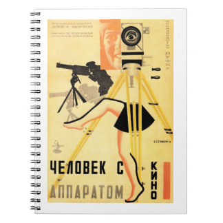 """""""Man With A Movie Camera"""" Notebook"""