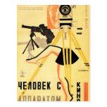 """Man With A Movie Camera"" Postcard"