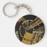 Man with a Movie Camera Poster Key Chain