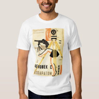 """Man With A Movie Camera"" Tee Shirt"