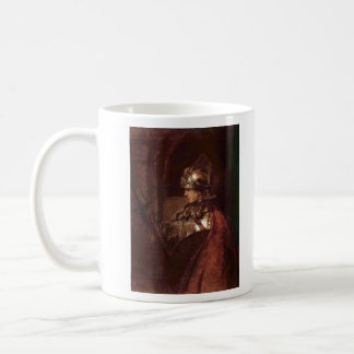 Man with arms (Alexander the Great) by Rembrandt Mugs