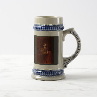 Man With Arms (Alexander The Great) By Rembrandt Coffee Mugs
