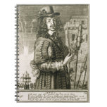 Man with firework rocket, from the 'Recueil de fig Notebook