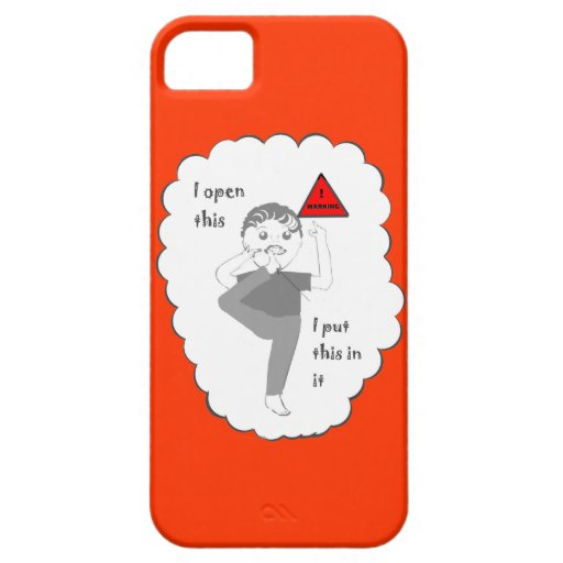 Man with Foot in Mouth iPhone cases iPhone 5/5S Cover