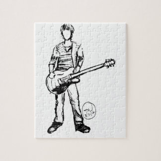 Man with Guitar Puzzle