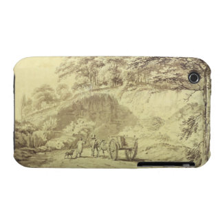 Man with Horse and Cart Entering a Quarry, c.1797 iPhone 3 Cover