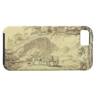 Man with Horse and Cart Entering a Quarry, c.1797 iPhone 5 Cases