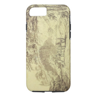 Man with Horse and Cart Entering a Quarry, c.1797 iPhone 8/7 Case