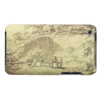 Man with Horse and Cart Entering a Quarry, c.1797 iPod Touch Cover