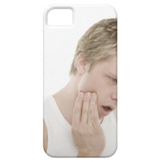 Man with toothache case for the iPhone 5