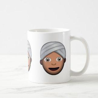 Man With Turban Emoji Coffee Mug