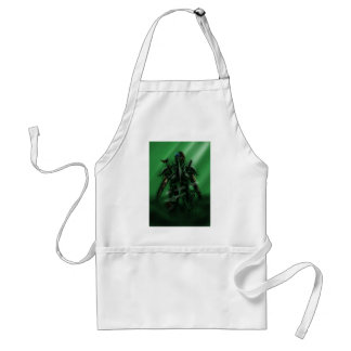 Man with Weapons Tote 2 Adult Apron