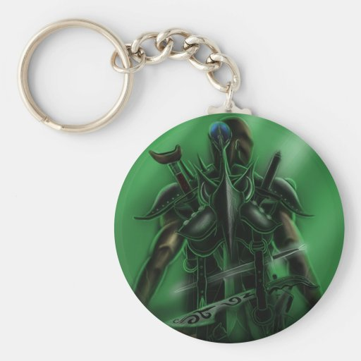 Man with Weapons Tote 2 Key Chain