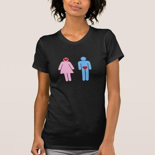 Man Woman Love Humour Tshirt