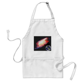 Man wondering about his existence aprons