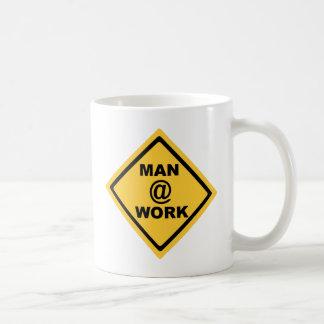 Man @ Work Coffee Mug