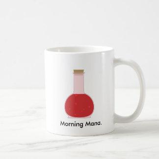 Mana vial basic white mug