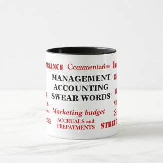 Management Accounting Swear Words Annoying Funny Mug