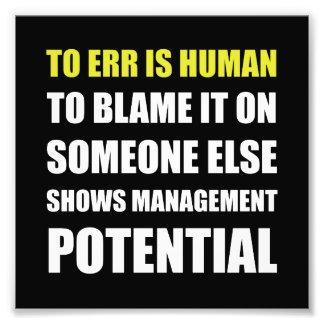Management Potential Photo