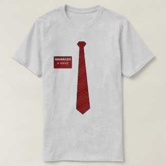 Manager Necktie Shirt