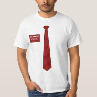 Manager Necktie Shirt