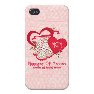 Manager of Messes iPhone 4/4S Covers